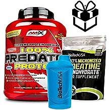 AMIX Predator Protein - 2 Kg Cookies + Creatine + Mezclador