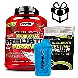 AMIX Predator Protein - 2 Kg Fresa + Creatine + Mezclador