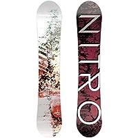 Nitro Snowboards Women's Lecra Snowboard, Womens, Lecra