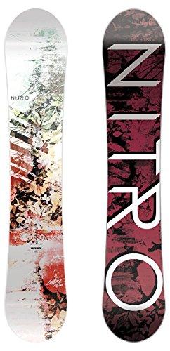 Nitro Damen Lecra Snowboard, Multicolour, 146