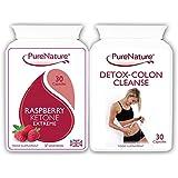 Rasberry cétone Extreme Formula avec Colon Cleanse Detox LIVRAISON GRATUITE