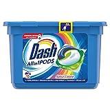 Dash PODS All in1 Detersivo in Monodosi per Bucato Salva Colore, Semplici da Usare, Profumo Ottimale In 1 Solo Lavaggio - 15 Lavaggi
