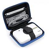 Astuccio | Custodia Per Polaroid Snap Touch | Snap - Con Mini Moschettone + Tasca Interna - Design Blu - DURGADGET immagine