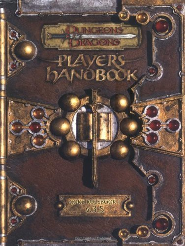Dungeons & Dragons Player's Handbook: Core Rulebook 1, Vol. 3.5 by Wizards Team (2003) Hardcover