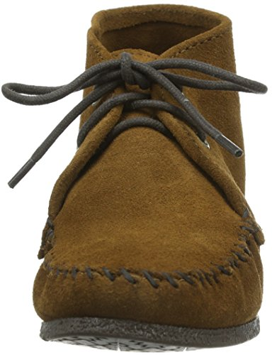 Minnetonka Chukka Wedge Boot Damen Chukka Boots Braun (Dusty Brown)