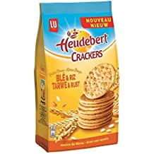 Lu - Heudebert Galletas Trigo Y Arroz 250G - Heudebert Crackers Blé Et Riz 250G -