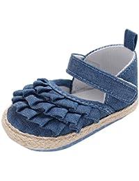 7d419a0adda Zapatos de Vaquero para Bebé Niñas Otoño Invierno PAOLIAN Zapatos de  Primeros Pasos Suela Blanda Bautizo