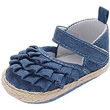 Zapatos de Vaquero para Bebé Niñas Otoño Invierno PAOLIAN Zapatos de Primeros Pasos Suela Blanda Bautizo