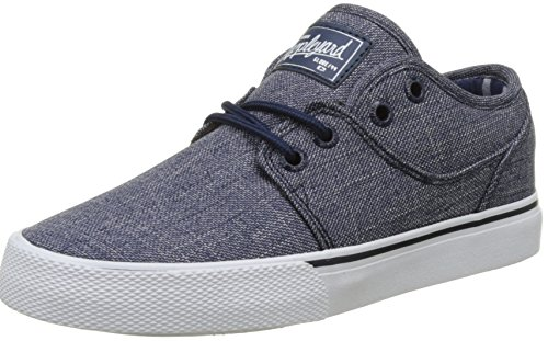 Globe Jungen Mahalo Skateboardschuhe, Blau (Navy Chambray), 36 EU (Kinder Schuhe Globe)
