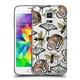 Head Case Designs Tiger, Schmetterling, Und Bienen Patch Styles Ruckseite Hülle für Samsung Galaxy S5 Mini