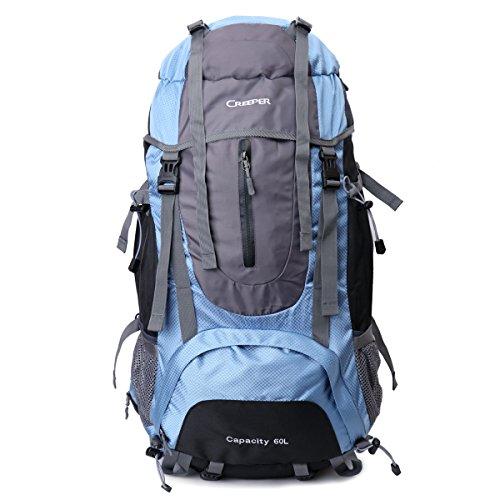 Local Lion 60 Lzaino borsa unisex sportivo outdoor professionale viaggio montagna da spalla outdoor campeggio escursionismo blu