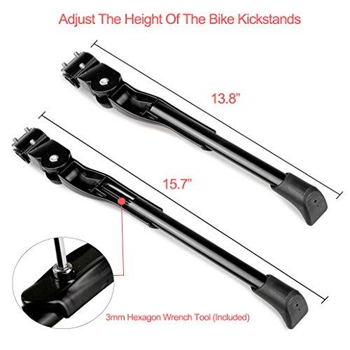 Zoom IMG-2 cavalletto bici xide laterale regolabile