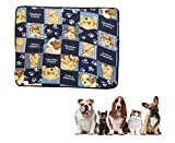 Ducomi Tobia - Tappetino Cuccia e Lettino per Cane e Gatto con Fodera Impermeabile - Cuscino idrorepellente per Cani, Gatti e Animali Domestici (45 x 61 cm, Obedient Friend)