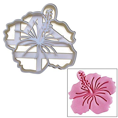 Fiori di Ibisco Cookie Cutter, 1pc, tema floreale regalo ideale per festa di nozze o giardino Picnic