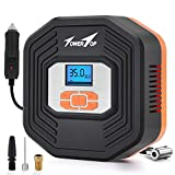 Towertop Digital Tyre Inflator, 12V DC Portable Air Compressor Pump, Car Tire Pump