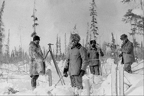 619035-surveying-klondike-1898-99-photo-hj-woodside-pa-164244-a4-photo-poster-print-10x8
