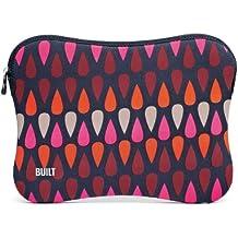 Built Raindrop - Funda de neopreno para MacBook Air y otros portátiles de 33,8 cm (13,3''), color rosa estampado