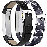Tobfit Bracelets Compatible avec Fitbit Alta de Replacement Cuir Bracelets Fitbit...