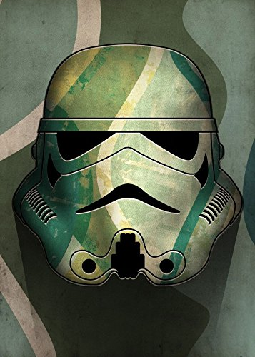 Trooper Camo (Star Wars Metall-Poster Masked Troopers Camo 32 x 45 cm)