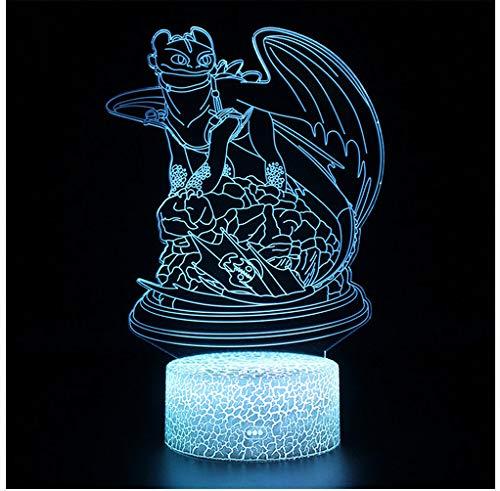 Lampen, ohne Drachen, mit Zahnzwischenbeleuchtung, Nachtlicht, Nachtlicht, Nachtlicht, Trainieren Sie Ihre Drachenlampe 2 (Drachen Ihre Trainieren Sie)