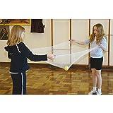 Easy Flyer Netze–mittelgroß, 1,22m (122cm) quadratisch, 2–4Spieler