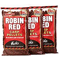 Dynamite Baits Robin Red Pellets de pesca de carpas, 15 mm