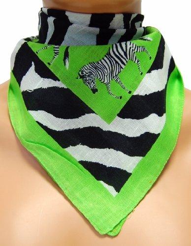 9:PM stylische Bandana - Zebra