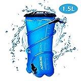 TRIWONDER 1.5-2-3L BPA Free Trinkblase Wasserreservoir für Radfahren Wandern Camping Rucksack (1.5L / 50oz (TPU))