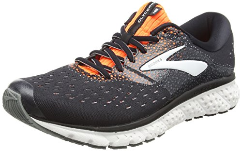 Brooks Glycerin 16, Scarpe da Running Uomo, Multicolore (Black/Orange/Grey 069), 44.5 EU