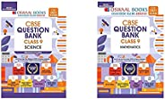 Oswaal CBSE Question Bank Class 9 Science + Oswaal CBSE Question Bank Class 9 Mathematics Book Chapterwise &am