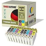 Pack de 10 XL TONER EXPERTE® Compatibles Epson 18XL T1816 Cartuchos de Tinta para Epson Expression Home XP-102, XP-202, XP-205, XP-212, XP-215, XP-225, XP-30, XP-33, XP-302, XP-305, XP-312, XP-315, XP-322, XP-325, XP-402, XP-405, XP-405WH, XP-412, XP-415, XP-422, XP-425