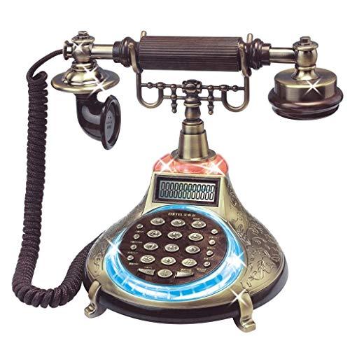 ZHAS Versorgung Kabelgebundenes Telefon Retro Telefon Vintage Telefon Europäisches Kreatives Kabelgebundenes Telefon Büro Harz Antikes Hauskabel Festnetz Festnetz Hotel Dekor schnurloses Telefon -