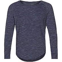 BBestseller Crew Neck, Suéter para Hombre Camiseta de Manga Larga Camiseta Casual Tops de Blusa