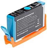 AmazonBasics Remanufactured Ink Cartridge Replacement for HP 364 (Cyan) Bild 4
