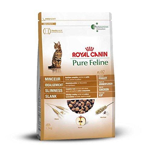 Royal Canin 55236 Pure Feline Idealgewicht 1,5 kg - Katzenfutter