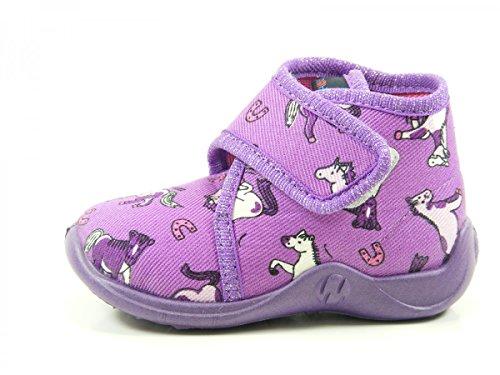 Rohde 2101 Kiddie Baby Schuhe Kinder Hausschuhe Jungen Mädchen Violett