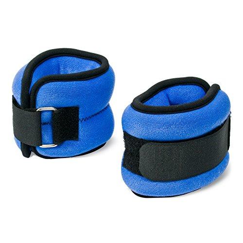 AEROFIT Ankle/wrist Weights NeoPrene 1Kg (2kg Pr) (Color May Vary)