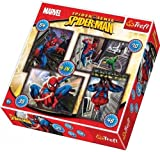 Marvel 916 34120 4-in-1 Spiderman Puzzle