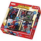 Trefl 3412 - Lote de 4 puzzles (35, 48, 54, 70 piezas), diseño de Spiderman