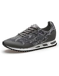 Blauer 8DETROIT01 KNI Herren Turnschuhe und Sneaker aus Mesh mit  Lederbesätzen 2c3255970c