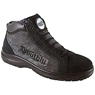 Aboutblu 1928804LA46 Chicago Mid Sneaker Sicherheit, Gr. 46