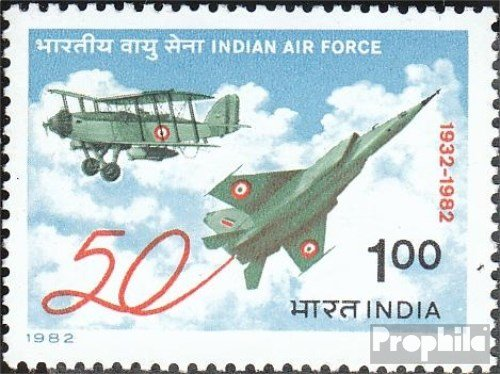 india-918-completa-edizione-1982-air-force-francobolli-