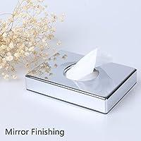 Miroir sac d'hygiène Distributeur de Bonus 2recharges Boîte Sacs pour femmes Comptoir en acier inoxydable Finition chrome
