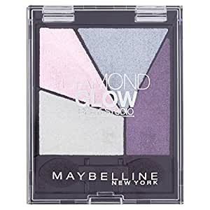 Maybelline New York Eyestudio Diamond Glow - Palette ombre à paupières Violet - 01 purple drama