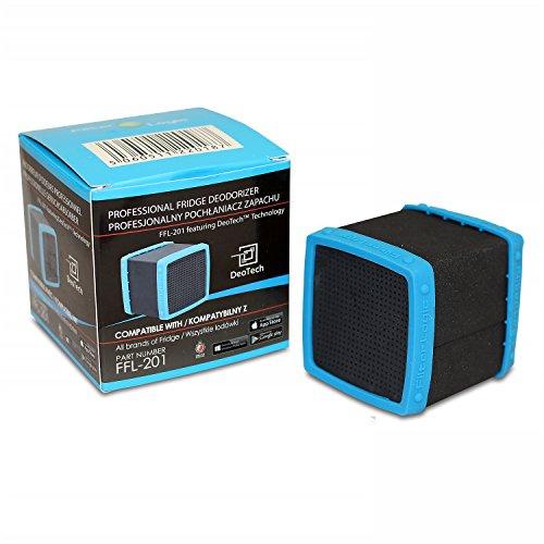 FFL-201 FilterLogic DeoTech - Desodorante para frigorífico, purificador de aire, neutralizador de olor...