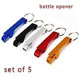 Keychain Flaschenöffner Bieröffner Taschenschlüssel Schlüsselanhänger Schlüsselanhänger Kettenring