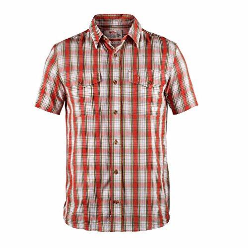 Fjällräven Herren Abisko Cool Shirt SS Hemd, Cork(Orange), M