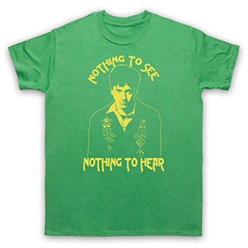 Inspiriert durch Graham Coxon Freakin Out Unofficial Herren T-Shirt Grun