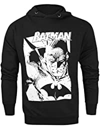 Hommes - Official - Batman - Sweat À Capuche