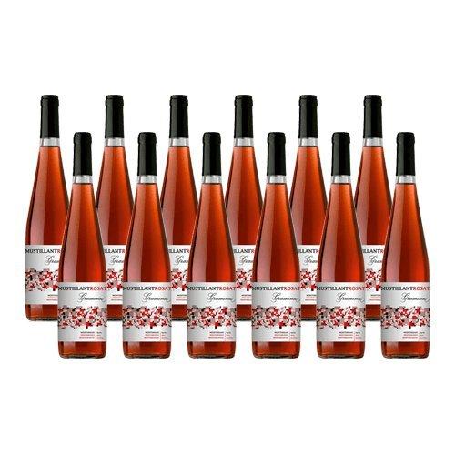 Gramona Vino De Aguja Rosado Mustillant - Vino Rose - 12 Botellas